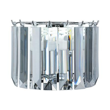 Russell Lowe Thames Large Chandelier, Chrome | achica