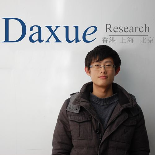 Chen Xiaohang is one of our research assistants at Daxue!