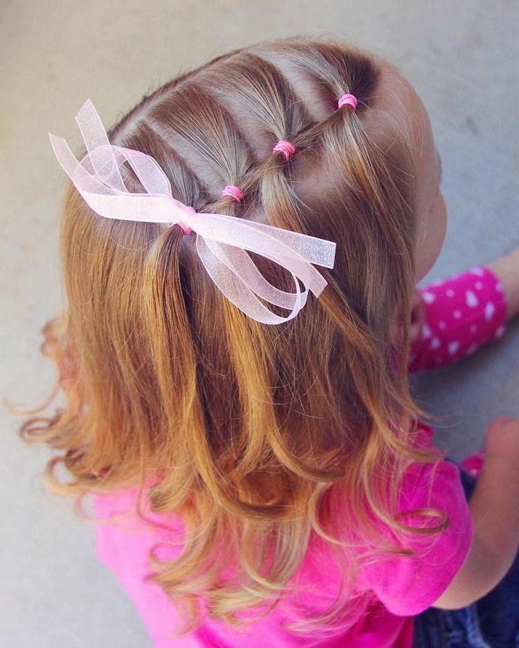 coiffure good woman pink elastics #hairstyles #woman