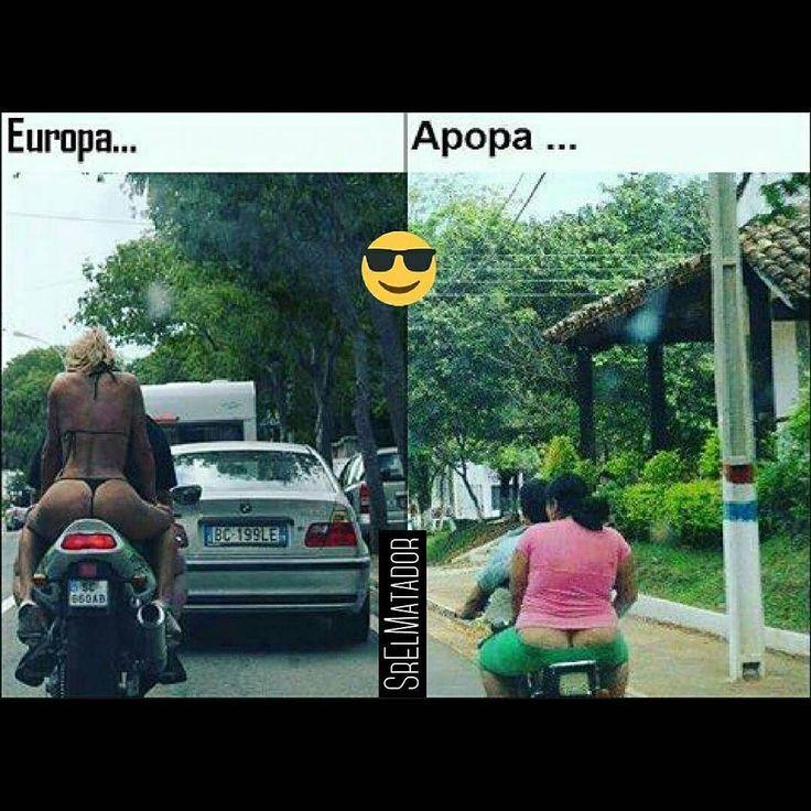Encuentre las diferencias. ______ #Europa #Apopa #Moto #Motocicleta #bikini #trajedebaño #Tanga #playa #Bronceado #SrElMatador #ElSalvador #SV #SoloEnElSalvador #MiércolesGabán #SrElMatador http://www.srelmatador.com #Foto