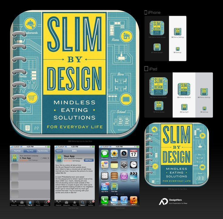 New Slim By Design App Logo. Now To Finish The App Itself