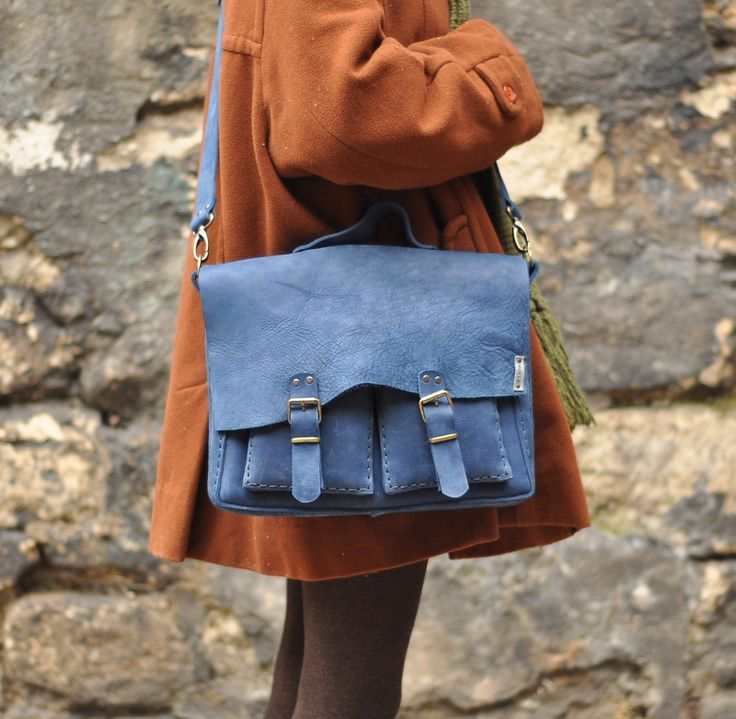 Massenger bag handmade leather
