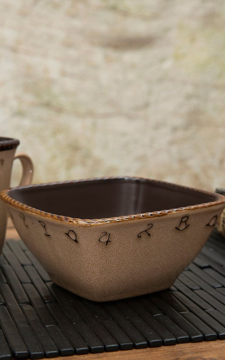 M Western Products® Rustic Ranch 4-Piece Bowl Set