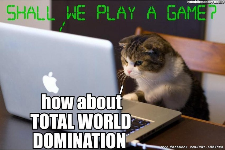 For The total world domination collection