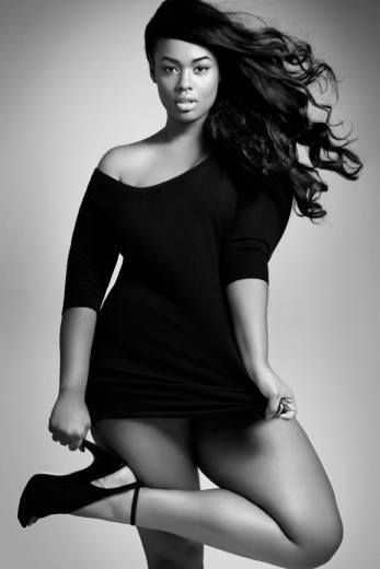 African Curvy Women-15 Fashionable African Plus Size Models