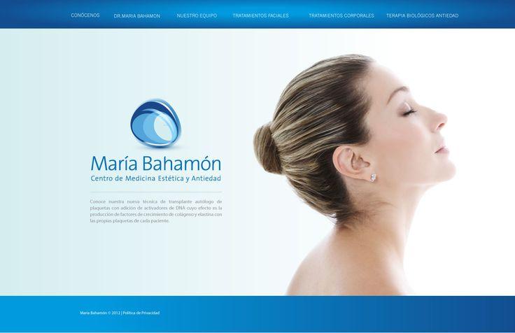 Sitio web para MARIA BAHAMON - Año ©2011
