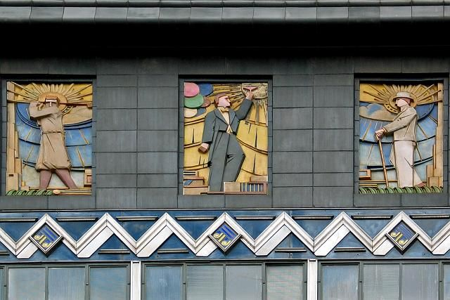 Detail on the Buckley & Nunn building
