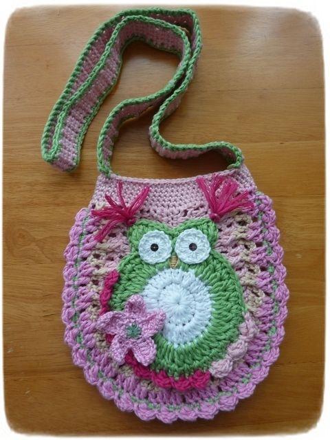 Crochet Owl Purse Pattern Free Images Knitting Patterns Free Download