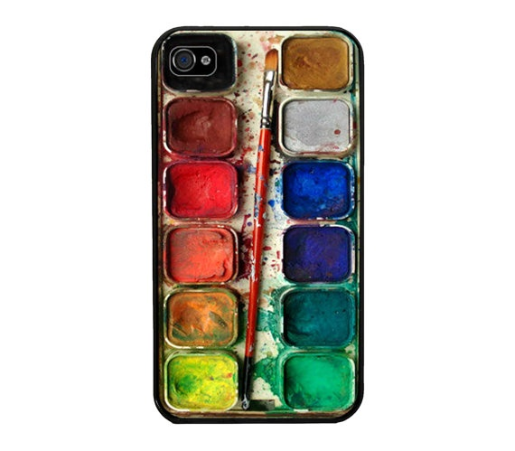 Watercolor painting Box palette Design  by GeluguAccessories, $9.45: Watercolor Paintings, Palettes Design, Paintings Boxes, Boxes Palettes