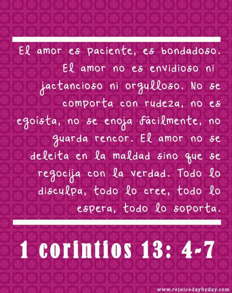 Matrimonio Catolico Segun La Biblia : Corintios frases y mas pinterest