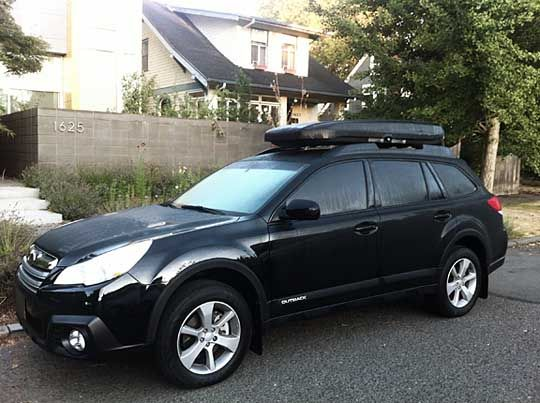 Car Top Cargo Carrier >> 2013 outback 3.6r, with wheel arch molding and roof cargo ...