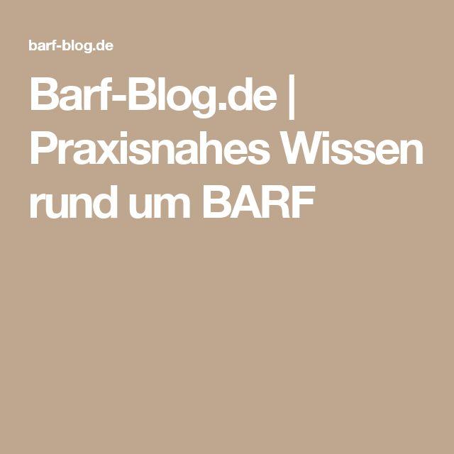 Barf-Blog.de | Praxisnahes Wissen rund um BARF