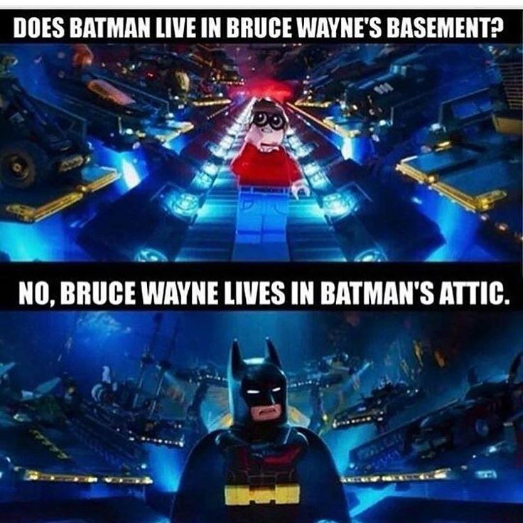 In a way, it was quite true. Batman spend most of his time in Batcave rather than mansion lol