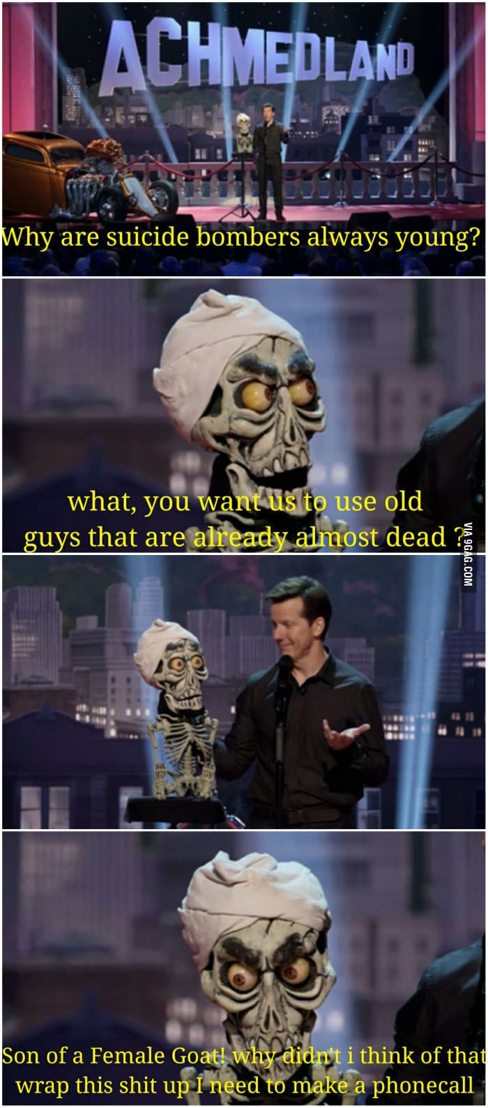 Jeff Dunham with Achmed, the dead terrorist