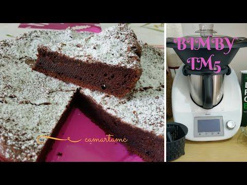 BIMBY TM5: TORTA TENERINA CON CUORE CREMOSO al cioccolato fondente   RICETTA FERRARESE - YouTube