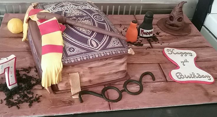 Harry potter cake for my son