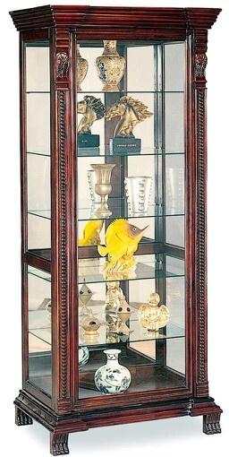 13 Best Curio Cabinet Images On Pinterest Antique Wardrobe