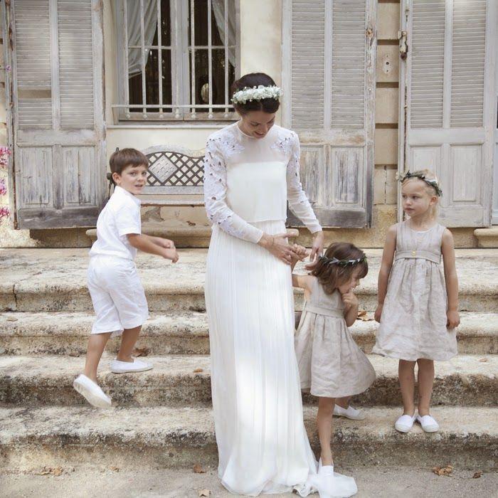 Petite Mafalda: La novia francesa del vestido ideal
