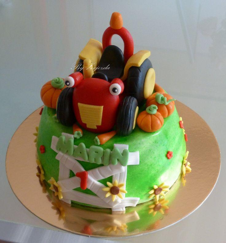 Tractor Tom cake