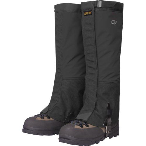 Outdoor Research Mens Crocodile Gaiters Black Large -- See this great product.