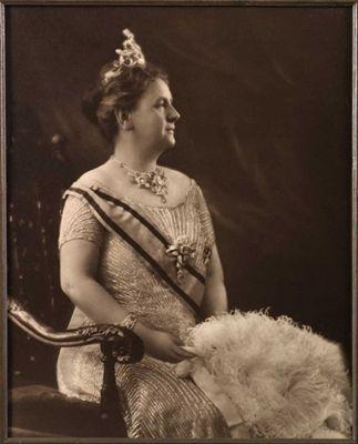 Staatsieportret van Koningin Wilhelmina, 1931