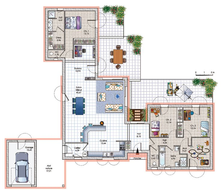 Les 53 meilleures images du tableau maison patio sur for Construire ses propres plans de maison