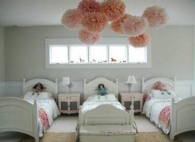 Wonderful Makes Me Want To Have Triplet Girls..NOT A Very Cute And Simple Room
