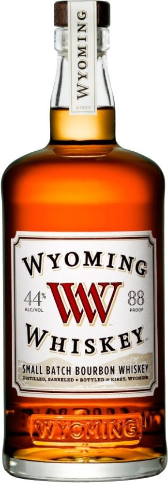 Wyoming Whiskey Small Batch Bourbon  Aged for a minimum of five years in charred, white oak barrels, this Wyoming Bourbon is distilled and aged in Kirby, Wyoming, where temperatures fluctuate from sub-zero in the winter to 130+ in the summer.