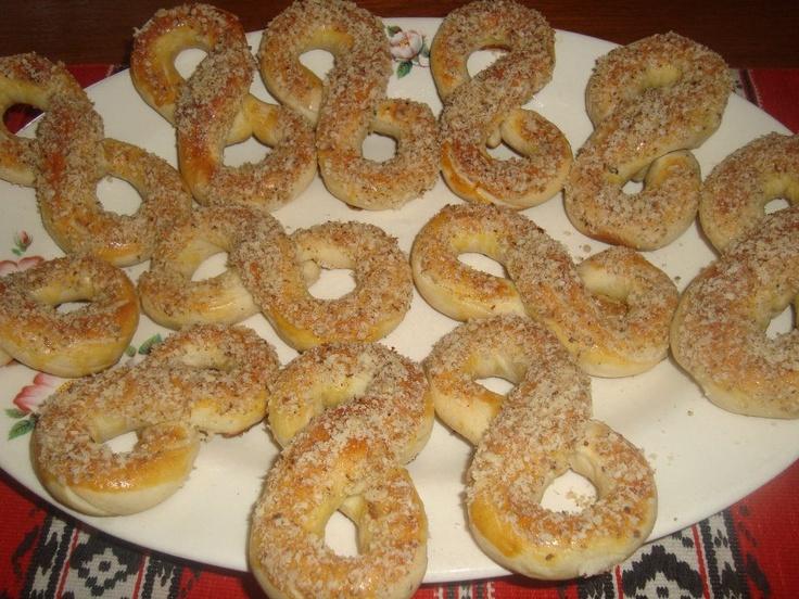 "Romanian cake, called "" Mucenici """