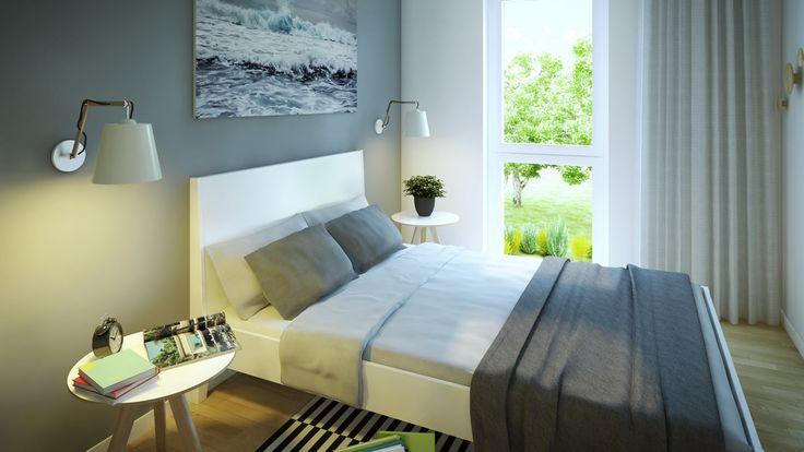 Prosta sypialnia - lubimy to!