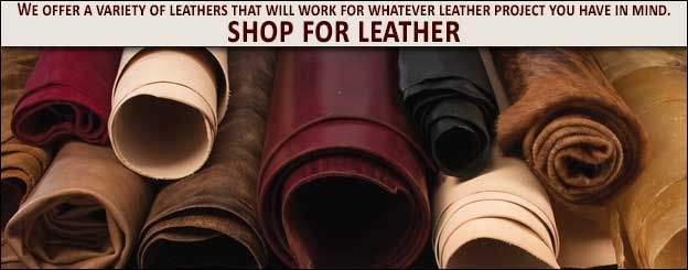 Tandy Leather We offer a variety of leathers that will work for whatever leather project you have in mind. Shop for leather