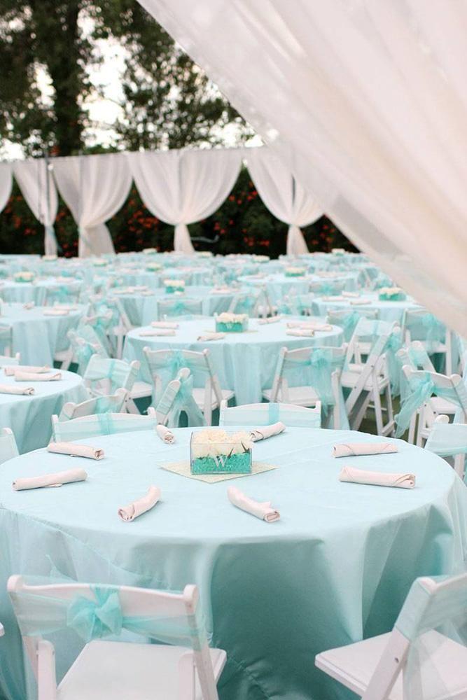 30 Awesome Tiffany Blue Wedding Decorations Wedding Forward