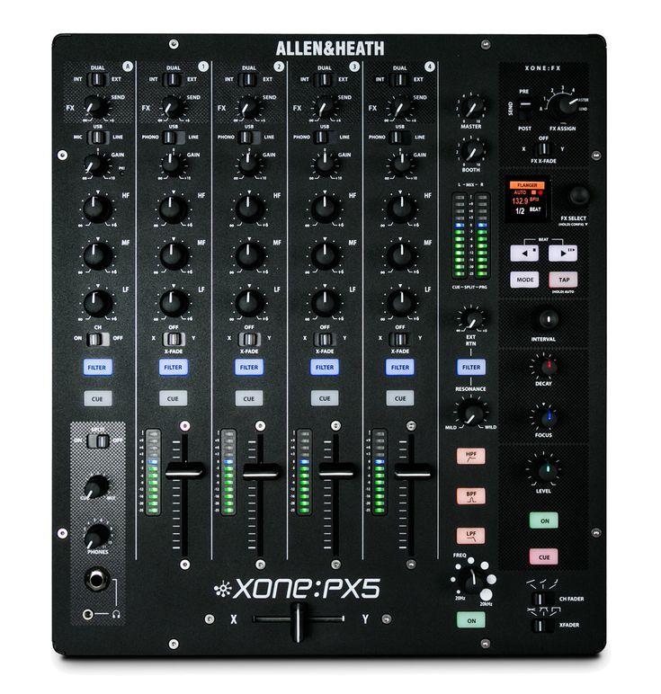 Allen heath xone px5 41 channel dj performance mixer