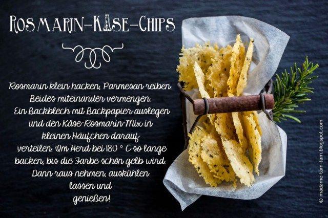 Ein Grillparty-Mitbringsel: Selbstgemachte Basilikum- und Rosmarin-Käse-Chips! - marieola - food and lifestyle blog
