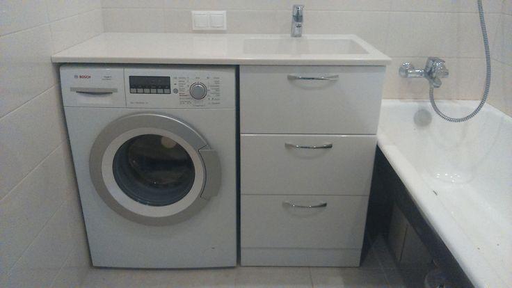 умывальник и стиральная машина под одной столешницей фото: 20 тыс изображений найдено в Яндекс.Картинках