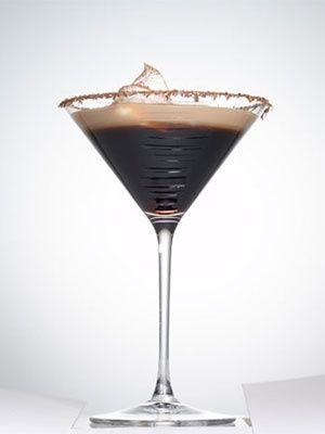 espresso martini: 1 1/2 oz. vodka, 3/4 oz. Kahlua coffee liqueur, 1/4 oz. white creme de cacao, 1 oz. cold espresso