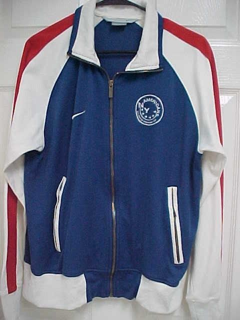 Americans NY U.S. Open Cup Champions 1907 Soccer Unisex Full Zip Jacket M  Nike  Nike a7fe33c09