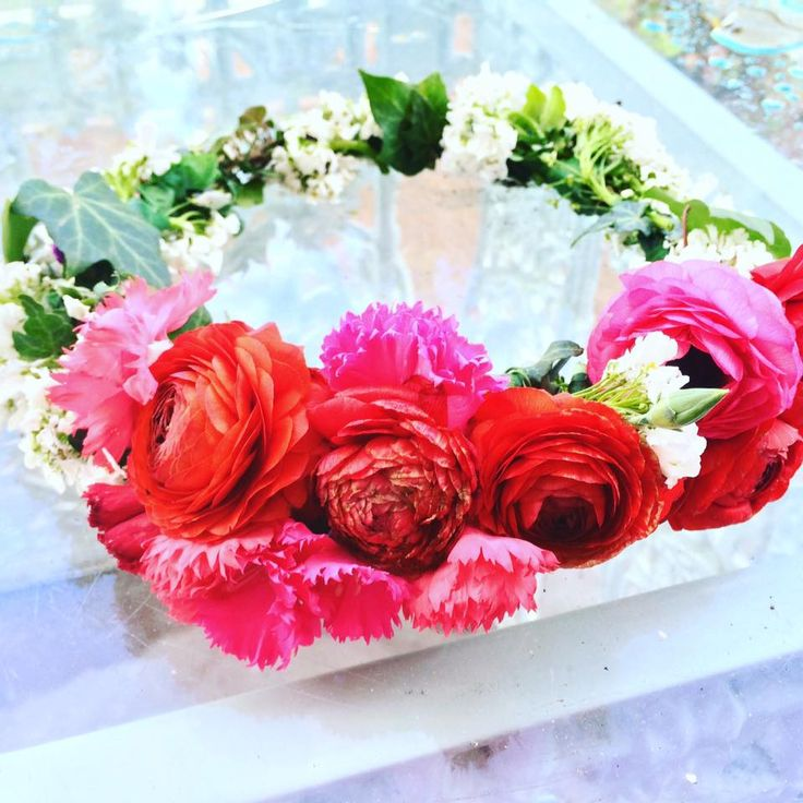 Flower Crowns By The Flower Place ! Bright & Beautiful