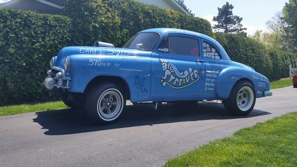 Cars For Sale In Ga >> 1950 chevy coupe gasser 100% street legal for Sale in MOUNT PLEASANT, PA | RacingJunk ...