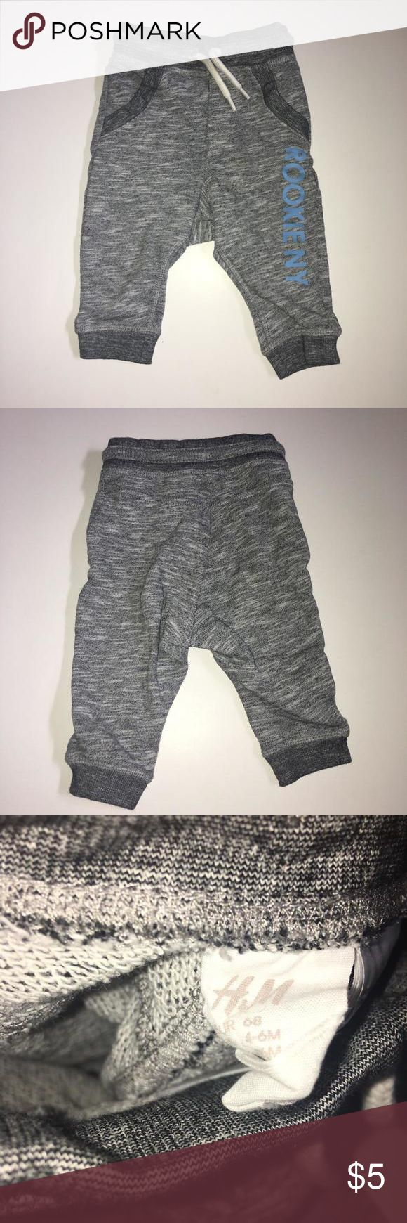 H&M trousers Excellent condition comes from smoke and pet free home.  Tag says 4-6 months H&M Kids Shirts & Tops