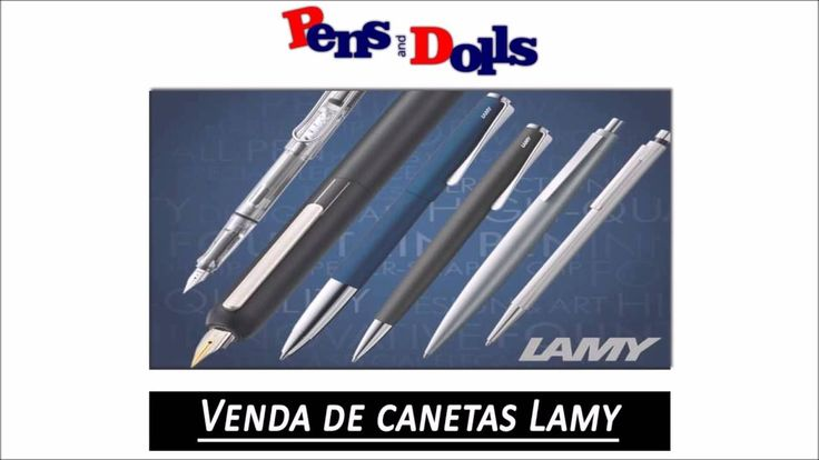 Venda de canetas Lamy - Pens and Dolls