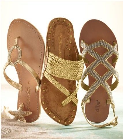 You can never have too many great pairs if sandles