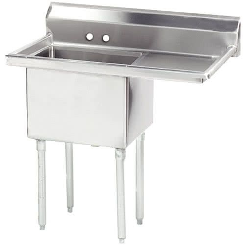 Right Drainboard Advance Tabco Fe 1 1620 18 X One Compartment Stainless