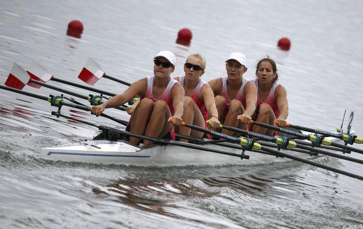 Od lewej: Monika Ciaciuch, Agnieszka Kobus, Joanna Leszczyńska i Maria Springwald - wioślarstwo