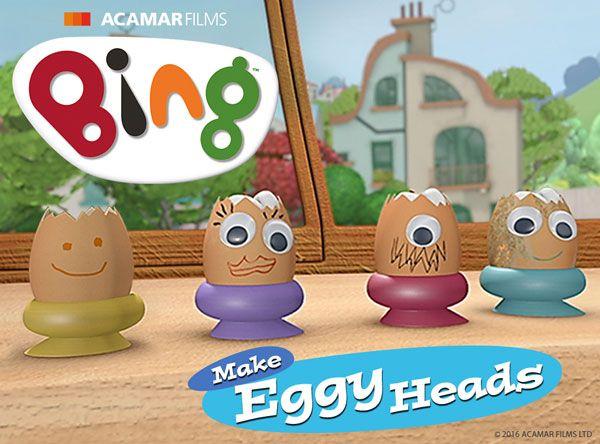 Make Eggy heads!