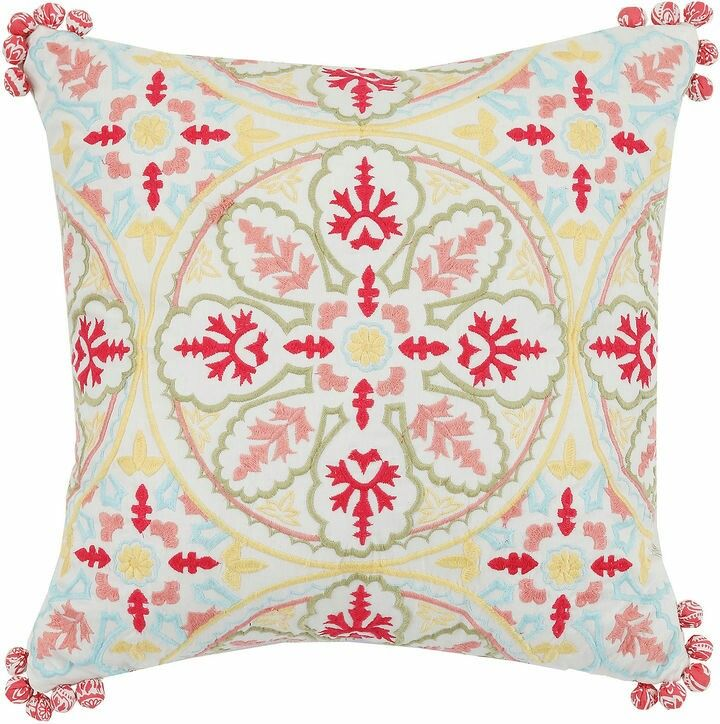 A colorful ethno looking pillow that will just brighten up my day, any day!