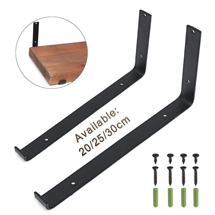 Hardware Rustic Wall Shelf Brackets Scaffold Board Heavy