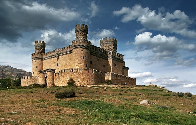 castillo de manzanares el real Madrid