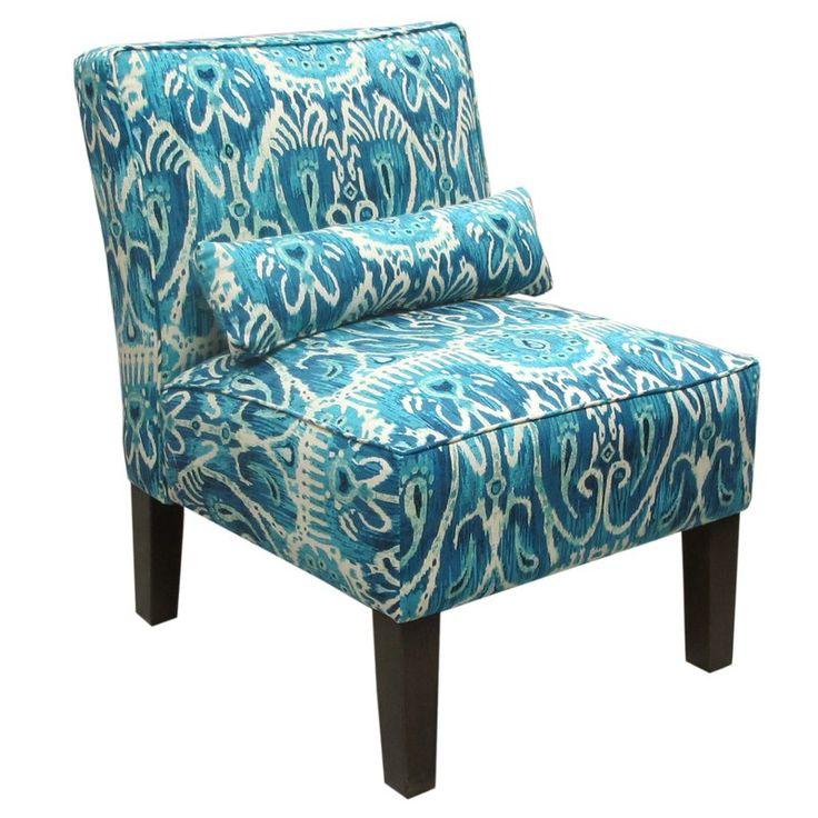 Skyline Furniture Alessandra Armless Slipper Chair & Reviews | Wayfair