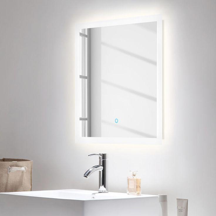Salle De Bain Carpo 2 Elements In 2020 Led Spiegel Badezimmerspiegel Und Badspiegel Led